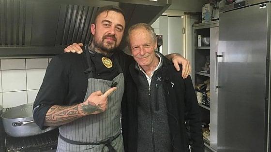 """Roma, Erri De Luca e Chef Rubio insieme per il progetto """"Pasto Sospeso"""""""