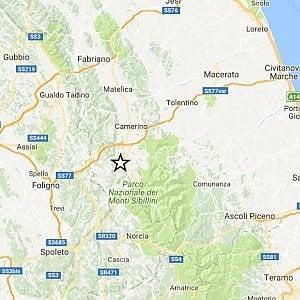 Terremoto, scosse oltre magnitudo 4 tra Macerata e Perugia