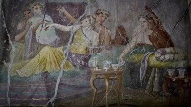 Pompei apre la Casa dei Casti amanti poi al via restauro da 10 milioni   foto