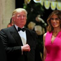 Florida, Trump e la first lady Melania al gala della Croce Rossa