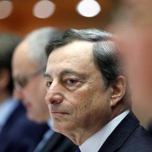 """Draghi: """"L'euro ci tiene uniti in tempi di chiusure nazionali"""""""