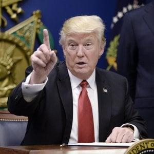 Trump in Europa a maggio per il vertice Nato. Oggi per lui primo voto a rischio