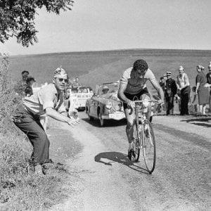 Ciclismo, morto Walkowiak: era la maglia gialla più antica