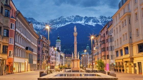 Innamorarsi a Innsbruck tra monti innevati e storia