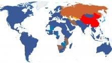 Mappa social del mondo, Facebook arretra in Russia e Africa