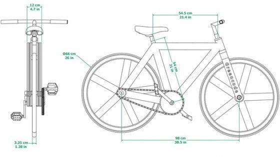 Non sembra ma di carta urban gc1 l 39 eco bici che arriva for Fare la mia planimetria