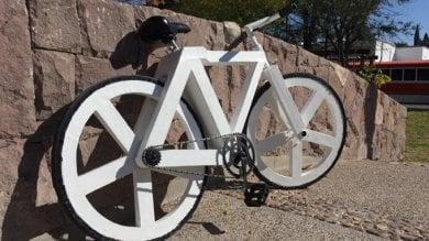 Non sembra ma è di carta:  l'eco-bici che arriva dal Messico