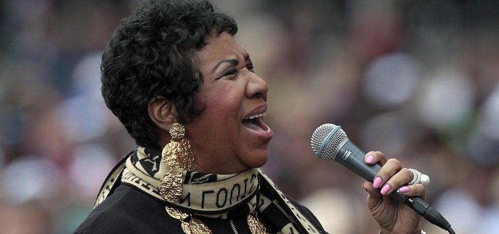 """Aretha Franklin annuncia il ritiro: """"Voglio fare la nonna"""""""