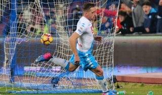 Napoli-Genoa 2-0: Zielinski e Giaccherini, gli azzurri non pensano già al Real