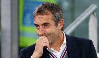 """Sampdoria, Giampaolo: """"Bologna? Non giochiamo con la puzza sotto il naso"""""""
