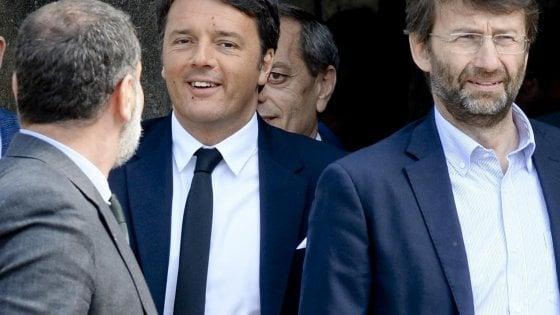 """Renzi e la carta dimissioni:  """"Ma il congresso subito e presto la legge sul voto"""""""