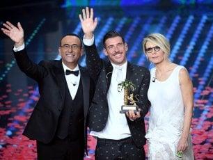 Sanremo, boom di ascolti per la finale: oltre 12 milioni e 58,4% di share