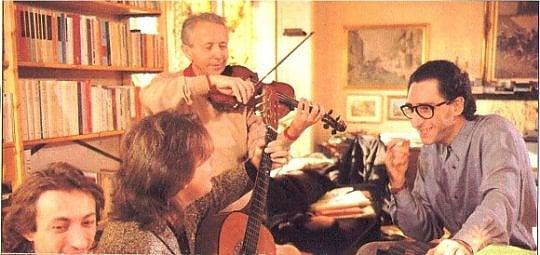 Morto il maestro Giusto Pio, indimenticabile violino di Battiato