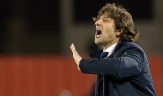 """Cagliari, Rastelli: """"Pagato caro ingenuità, contro Juve rimonta è difficile"""""""