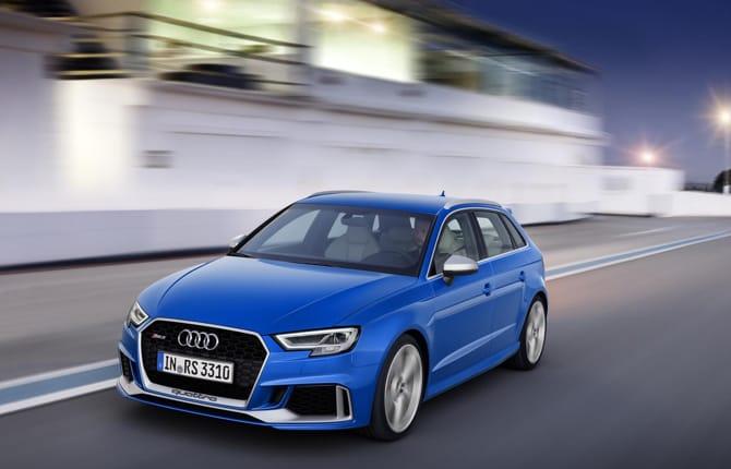 Audi RS 3 Sportback, non chiamatela Station Wagon