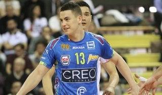 Volley, Grebennikov non vuole fermarsi più: ''Lube, vinciamo tutto''