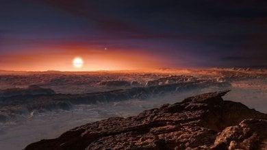 Vele giganti e vento solare per raggiungere Proxima b
