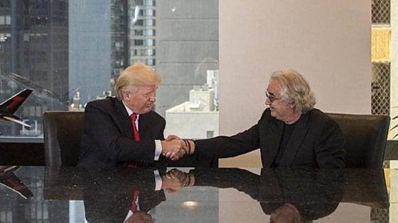 """E Briatore aiuta Renzi a ricucire con Trump: """"Ho favorito una telefonata tra due amici"""""""