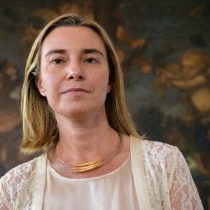 """Federica Mogherini: """"L'America mai così divisa tra conflitti politici e sociali, all'Ue più responsabilità nella leadership mondiale"""""""