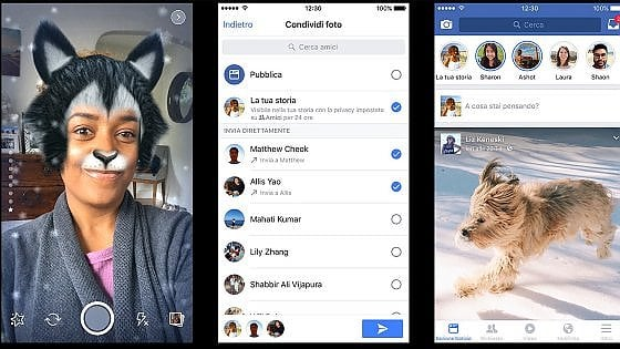 Zuckerberg scommette sui video: ecco la nuova app Camera