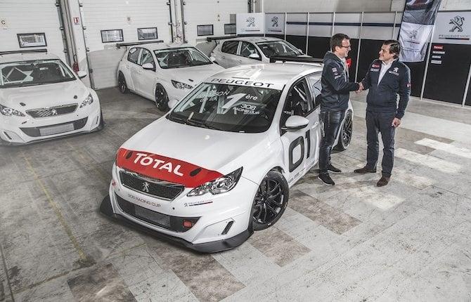 """Consegnata la prima Peugeot 308 Racing Cup, la """"belva"""" è pronta"""