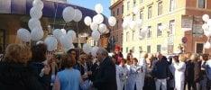 Dodicimila palloncini per la ricerca contro il cancro infantile   Foto  di SIMONE VALESINI