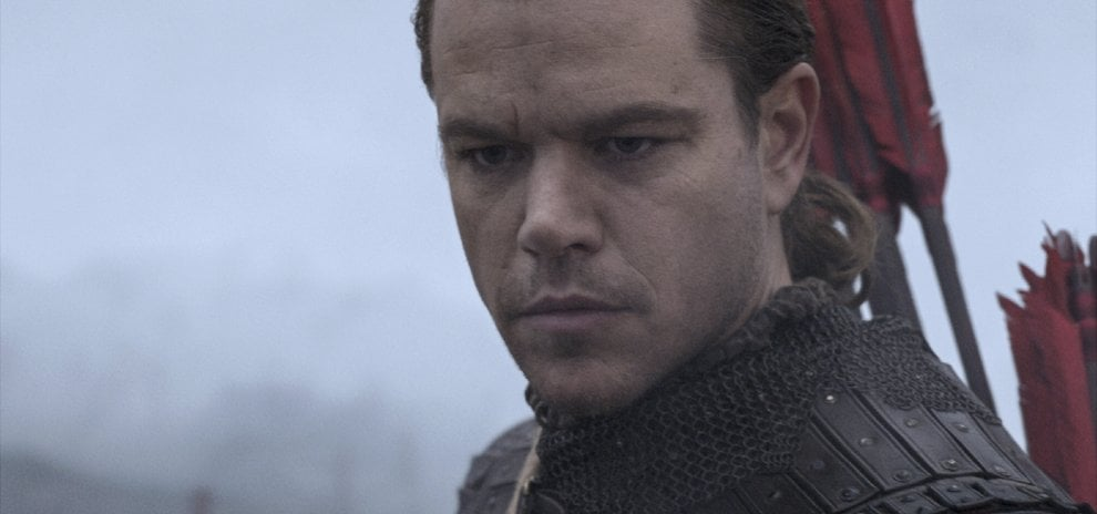 'The Great Wall', Matt Damon in Cina, la battaglia è colossale