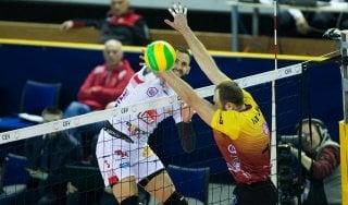 Volley, Champions league, la Lube rischia tanto ma vince in casa del Dukla Liberec
