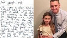 """Chloe, 7 anni, vuole lavorare da Google. Il Ceo: """"Intanto, studia"""""""