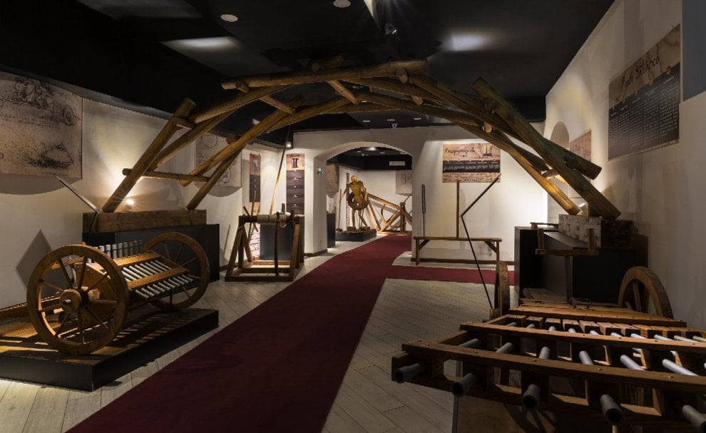 Leonardo, un museo a Roma per rivivere il genio