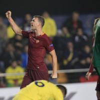 Le pagelle di Villarreal-Roma: Dzeko mattatore, Sansone non punge