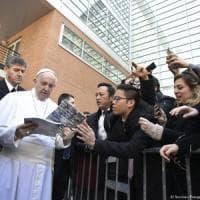 Papa Francesco a Roma Tre, dialogo con gli studenti: