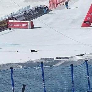 Sci, aereo tronca cavi: sfiorata tragedia ai Mondiali di Sankt Moritz