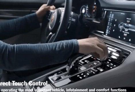 Porsche Panamera Advanced Cockpit, come su un'astronave