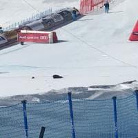 Sci, Mondiali: cade telecamera in pista. Paura a Saint Moritz