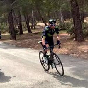 Ciclismo, Ruta del Sol: Valverde nuovo leader, Contador beffato per un secondo