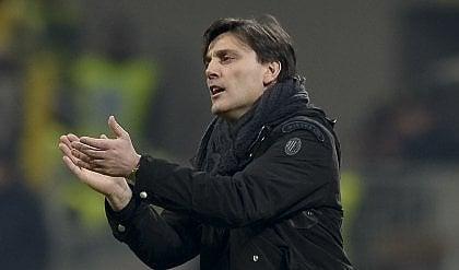 """Montella avvisa il Milan """"Per l'Europa serve cuore"""""""