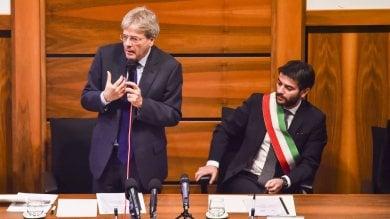 """Gentiloni: """"Italia è un grande Paese ma più ottimismo. Impegnati su periferie"""""""