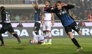 Atalanta-Crotone 1-0, Conti lancia i neazzurri restano al quarto posto