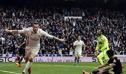Il Real Madrid non si ferma Bale rientra e va subito in gol