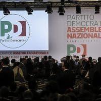 """Crisi Pd: al via assemblea Dem. Renzi: """"Peggio della parola scissione solo la parola..."""