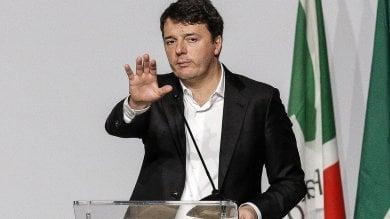 """L'assemble Pd, Renzi formalizza dimissioni  e sfida minoranza: """"No a ricatto scissione.  Non potete chiedermi di non candidarmi"""""""