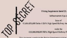Nuovi derivati segreti: miliardi alle banche per l'alta velocità
