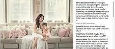 La foto di Tamara Ecclestone  che allatta la figlia di 3 anni sui social. Fino a quando dare il seno ai figli?   Gisele o Belen , allattamento social   di DEBORAH AMERI