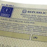 Auto: addio carta circolazione e certificato proprietà. Arriva il documento