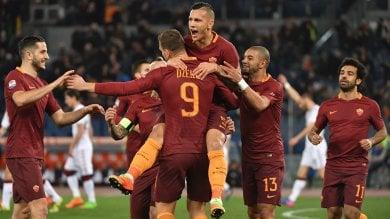 · Poker Roma il Torino è ko     · Zeman torna 5 gol al Genoa