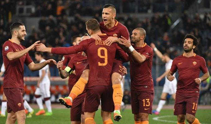 La Roma dà spettacolo: travolto il Torino 4-1   ft