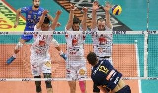 Volley, Superlega: Lube vince al tie break, Trento domina Modena