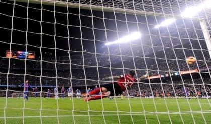 Messi al 90' salva il Barcellona   Psg pareggia , Monaco resta a +3