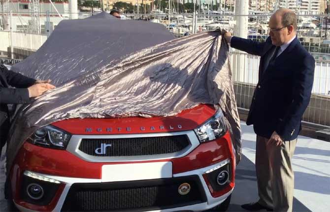 Alberto II di Monaco svela la DR Evo5 Monte Carlo
